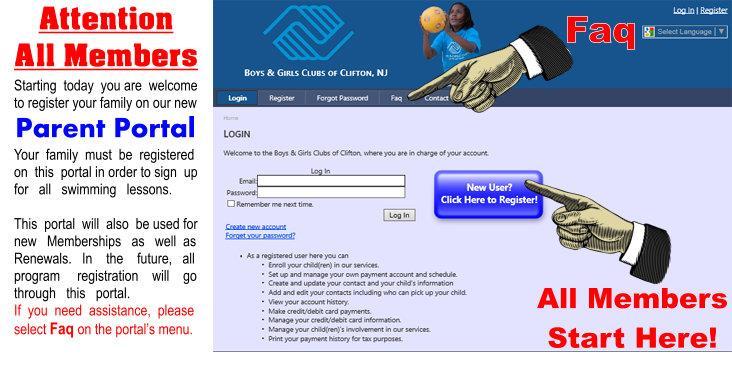 BGCC Parent Portal