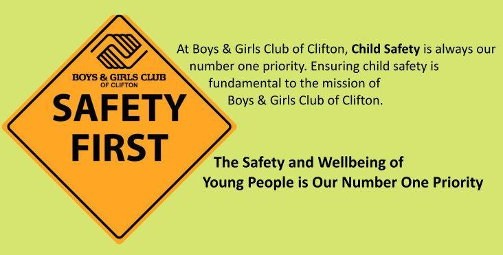 BGCC Safety Page