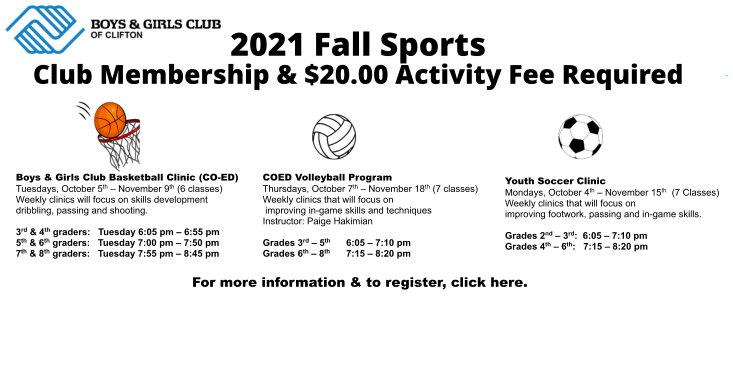 2021 Fall Sports